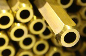 brass hollow bar